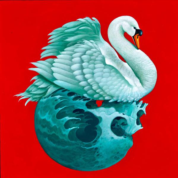 Gustavo Rimada, 'Turbulent Waters' @ Haven Gallery - via beautiful bizarre