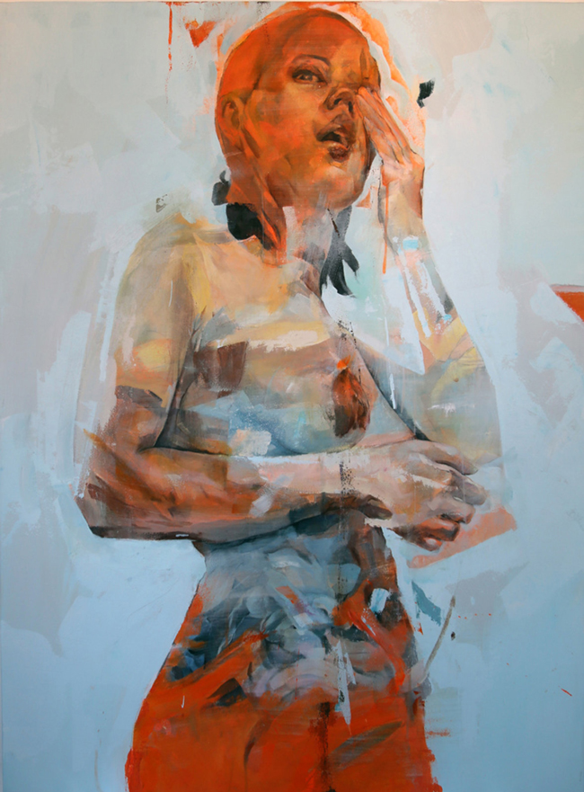 """These Are Not Droids"" by Benjamin Garcia | Below the Surface @ Corey Helford Gallery, LA - via beautiful.bizarre"