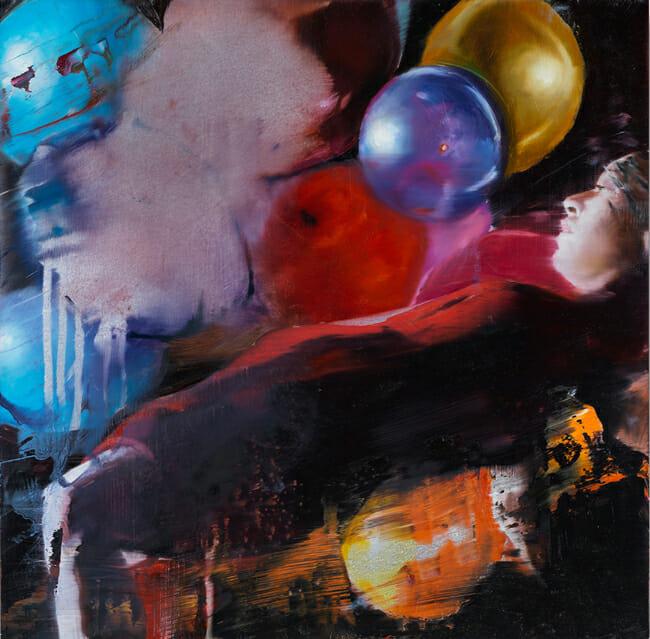 """Suspended #19"" by Chloe Early | Below the Surface @ Corey Helford Gallery, LA - via beautiful.bizarre"