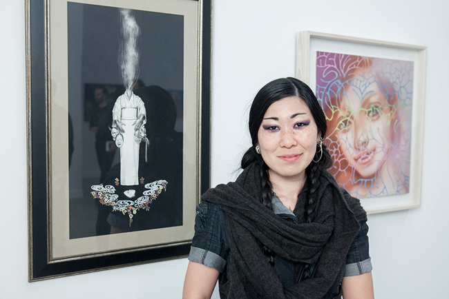 Artist Stephanie Inagaki | Below the Surface @ Corey Helford Gallery, LA - via beautiful.bizarre