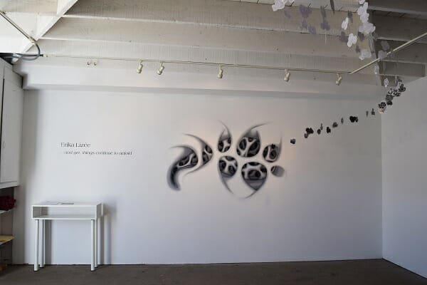 erika lizee, and yet things continue to unfold, installation, surreal art, 643 project space