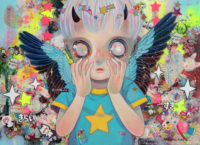 """Hero of Dilemma"" by Hikari Shimoda | Below the Surface @ Corey Helford Gallery, LA - via beautiful.bizarre"