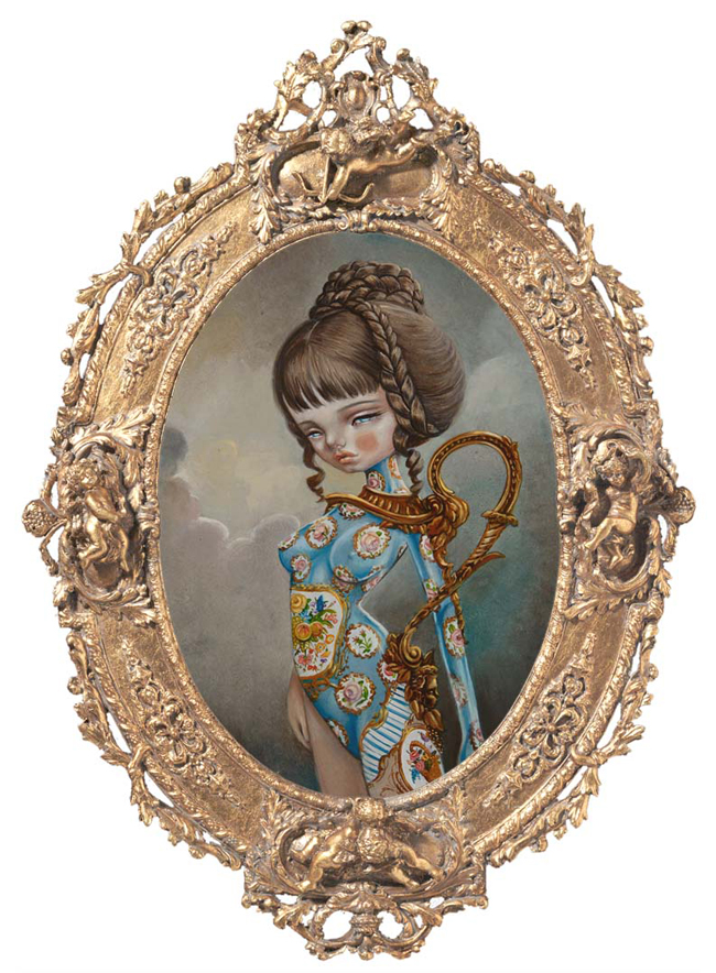 "Kukula, ""Gilded Ewer Fig. 58"", Huntington Epidemic - Haven Gallery @ Scope New York 2016 via beautiful.bizarre"