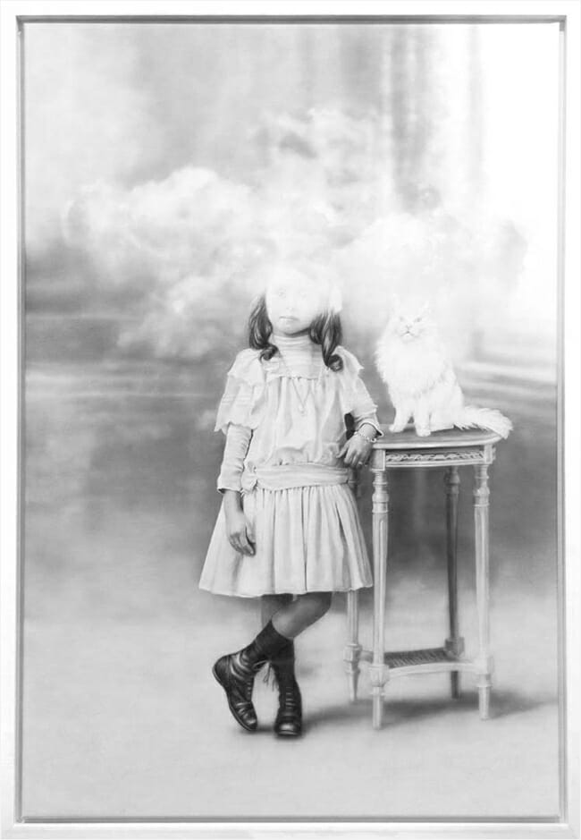 "Zoe Byland, ""Head in the clouds II"" - Haven Gallery @ Scope New York 2016"