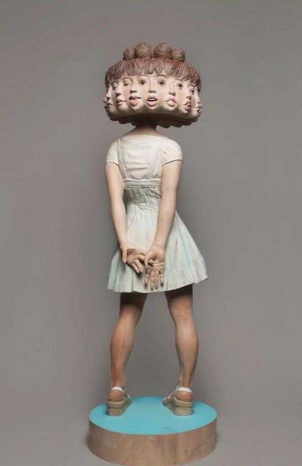 Contemporary_Surrealist_Sculpture_Yoshitoshi_Kanemaki_beautifulbizarre_013