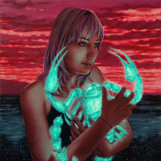"Casey Weldon: ""Stray Voltage"" @ Distinction Gallery - via beautiful.bizarre"