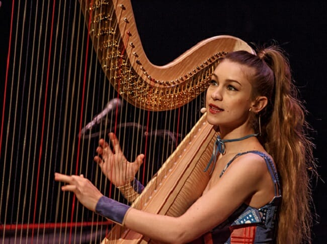 Joanna Newsoms 21st Century Harp Revamp Beautiful Bizarre Magazine