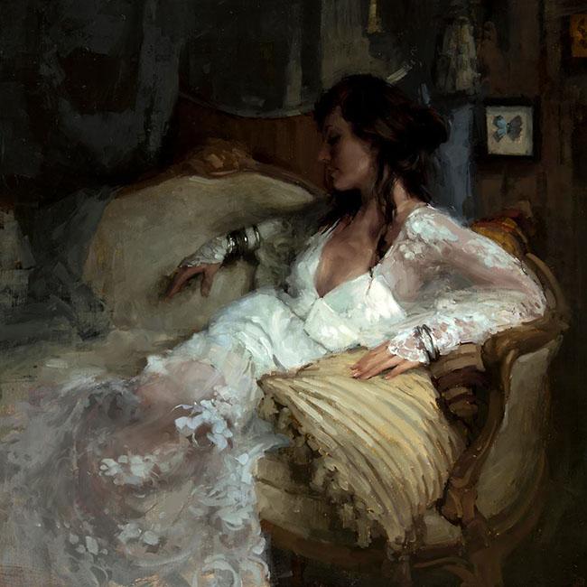 Jeremy Mann figurative painting