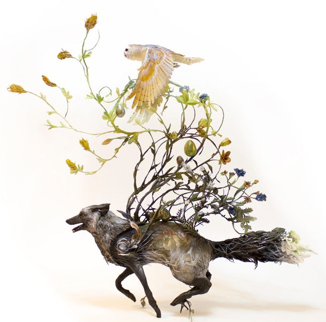 Ellen Jewett surreal animal sculptures