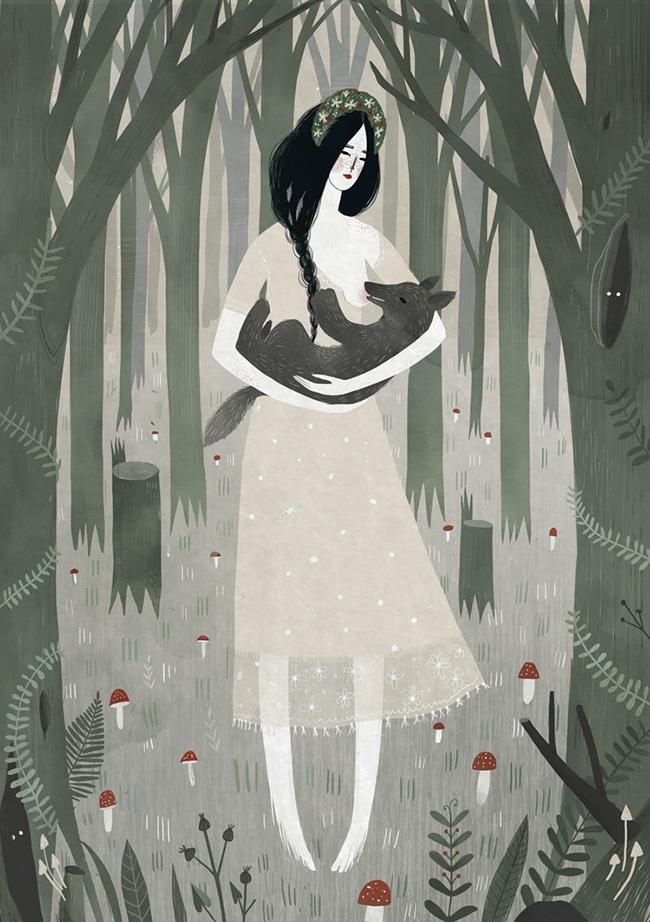 Beautiful Bizarre: Alexandra Dvornikova