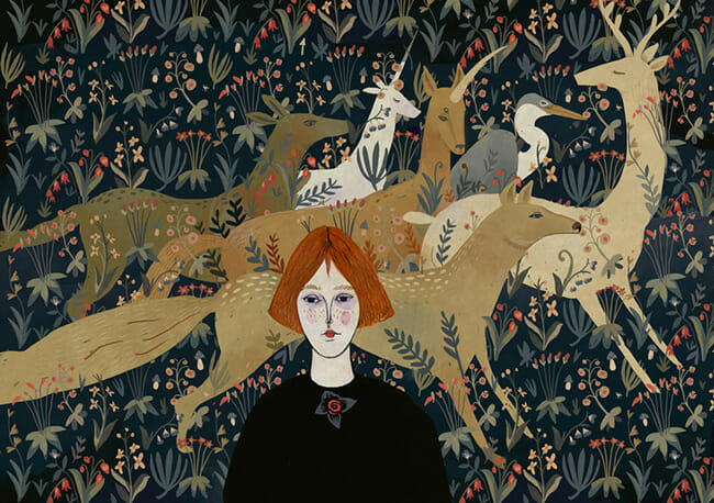 Beautiful Bizarre: Alexandra Dvornikova