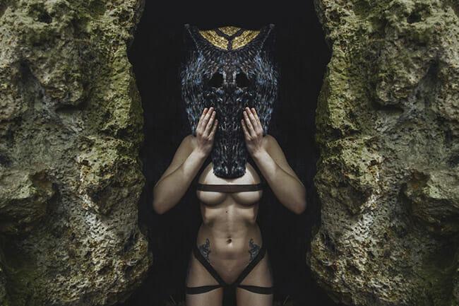 sculpture, mask, tribal, photography, leonard condemine, sculptor, mask maker, photographer, nature, adventure