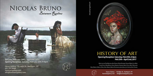 Nicolas Bruno: 'Between Realms' & 'Art of History' Group Show | via beautiful.bizarre