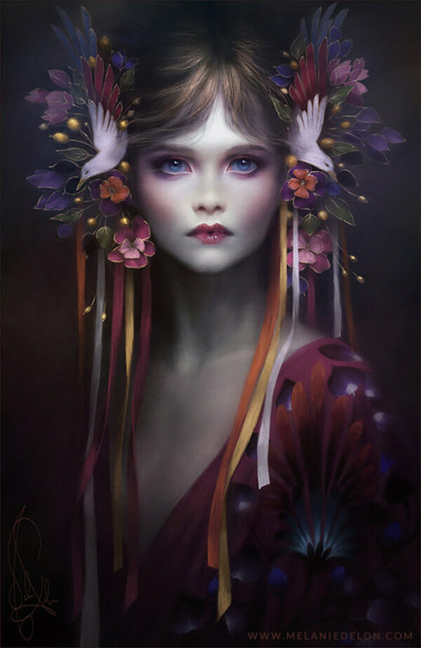 blossom melanie delon