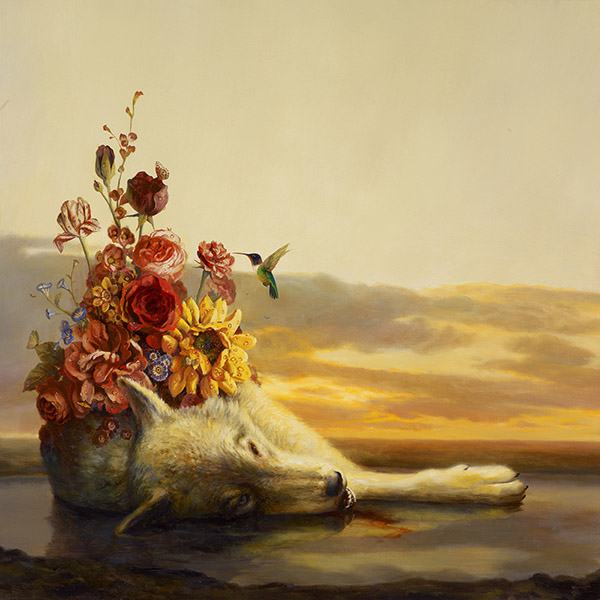 Martin Wittfooth surreal animal death painting