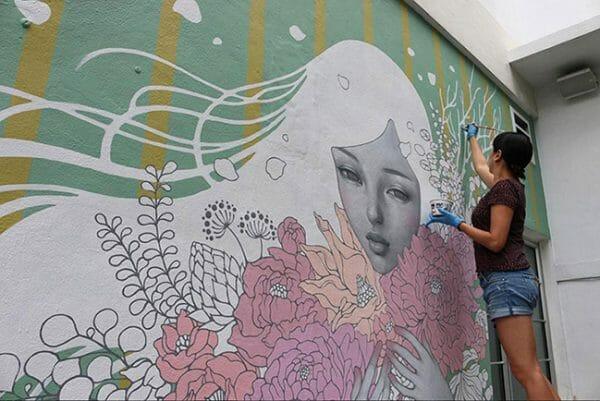 Audrey Kawasaki Murals