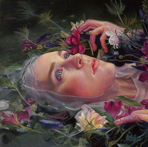 Kari-Lise Alexander's Grey Water 2 piece.