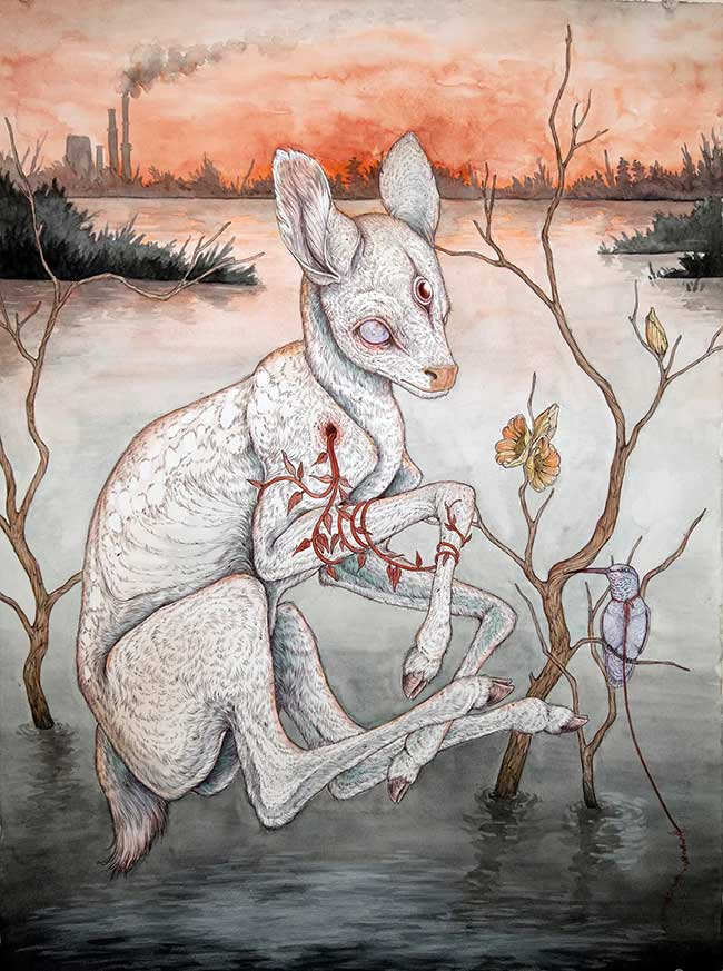 Beautiful Bizarre: Caitlin Hackett