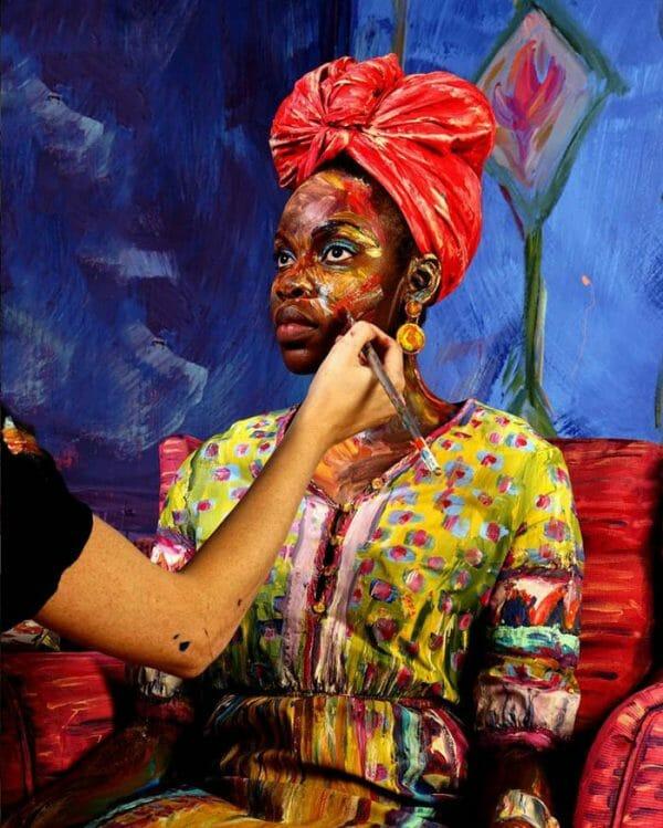 Alexa Meade Bold Painting