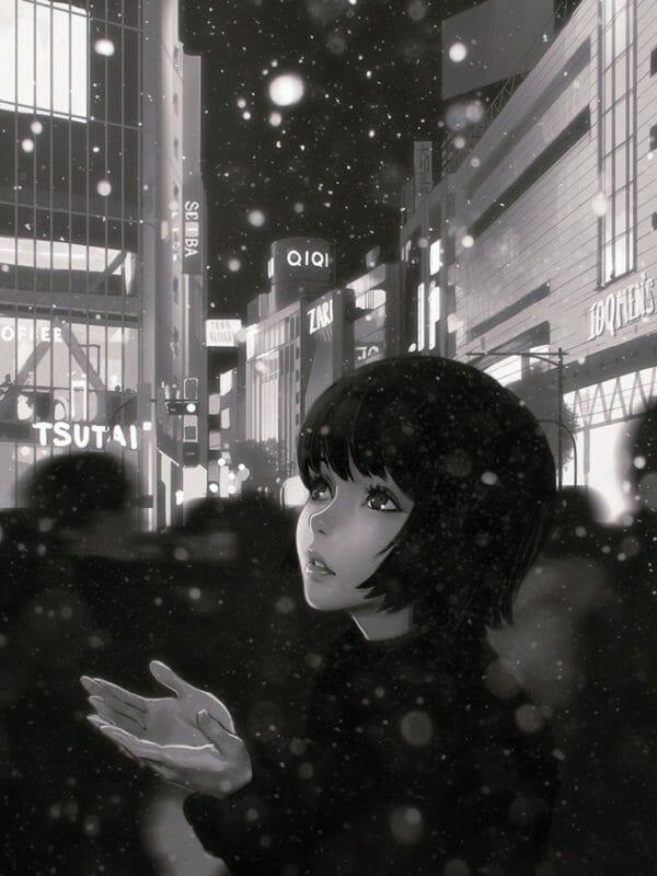 Ilya Kuvshinov Snow