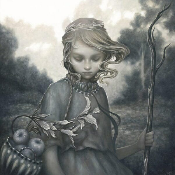 Amy Sol pop surrealism painting
