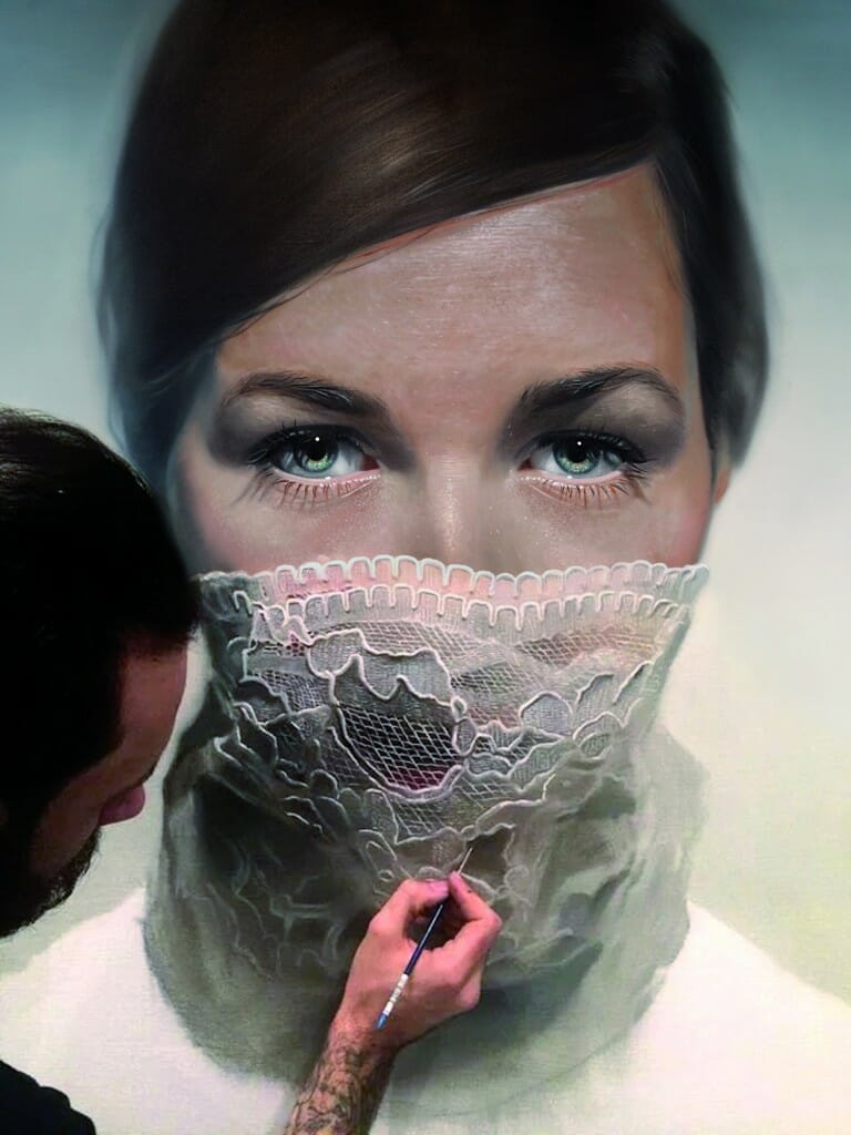 Mike dargas the hyper hyperrealistic painter for Holier than thou tattoo