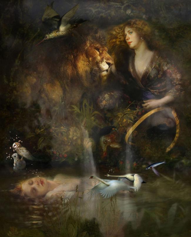 Iva Troj pop surreal painting