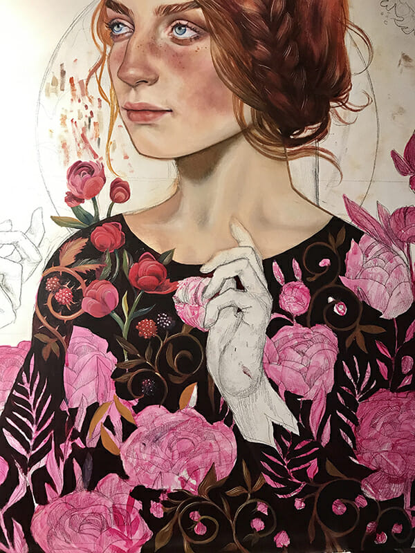 Ruth Speer September Wildflowers Beautiful Bizarre