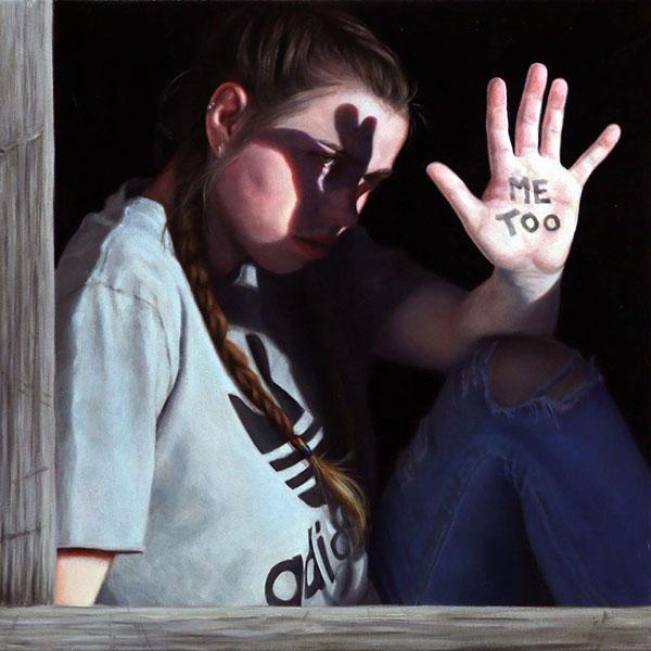 Janne Kearney realism figurative painting me too movement