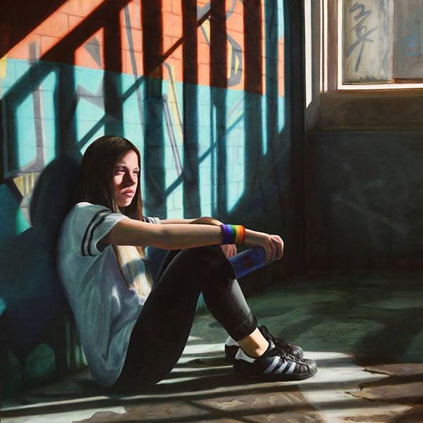 Janne Kearney realism figurative painting