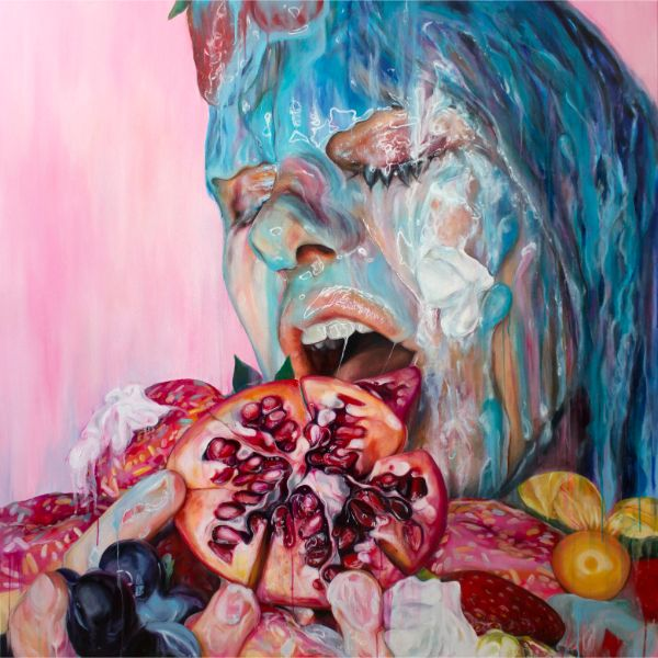 Anne Bengard surreal realism painting