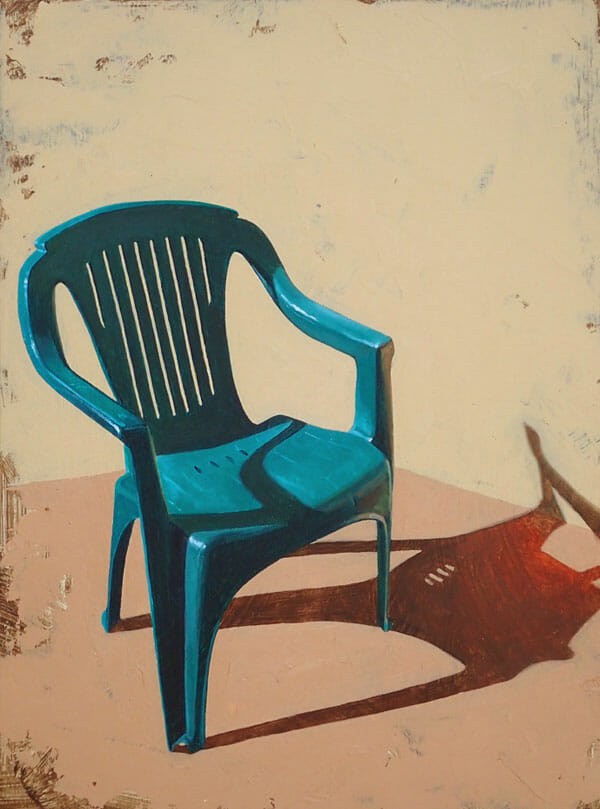 Chelsea Gustafsson chair painting