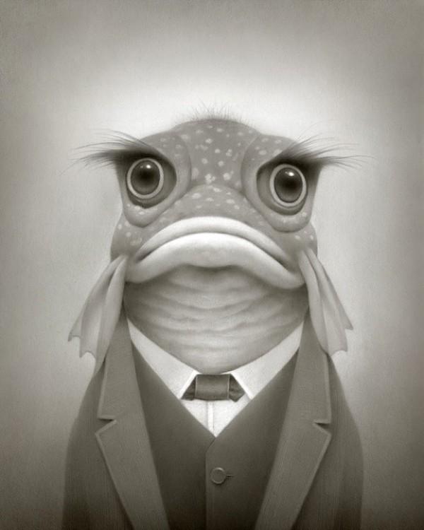 Travis Louis fish drawing