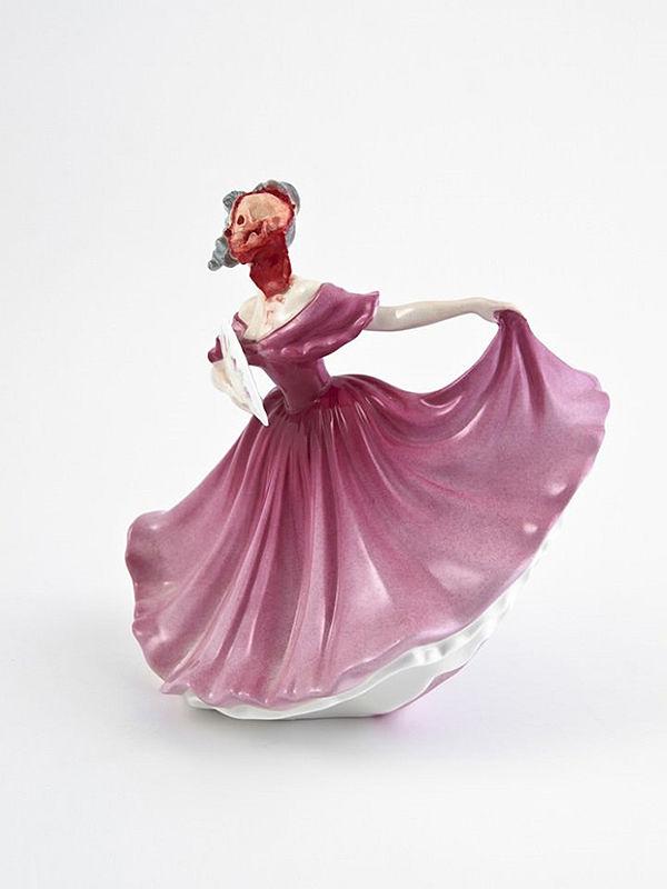 Jessica Harrison porcelain sculpture