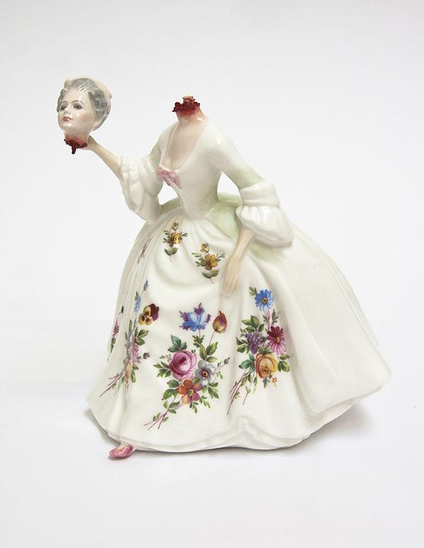 Jessica Harrison porcelain dark art sculpture