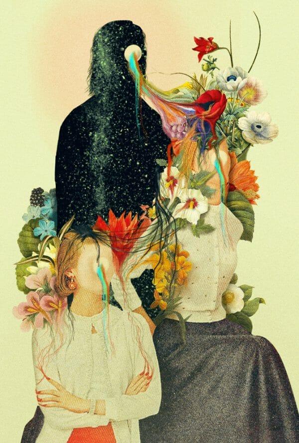 Pierre Schmidt - Die Melodie der Sprache flowers universe abstract digital photography