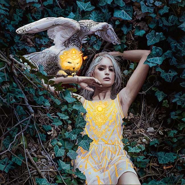 Rodrigo Luff surreal figurative artwork