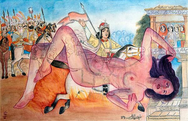 The feminist artwork of Maryam Gohar