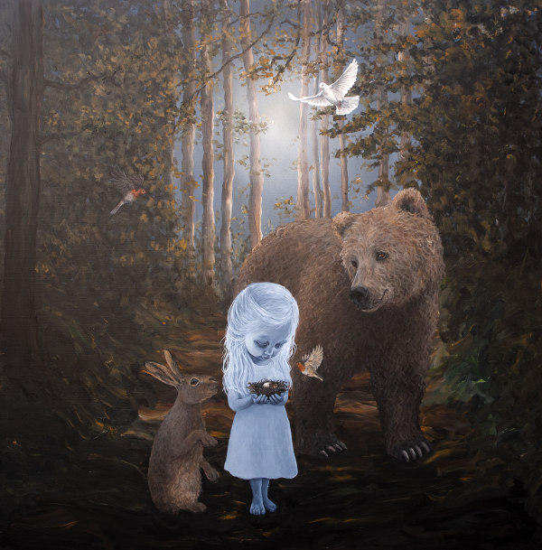 Anne Juul Christophersen nature surrealism animals