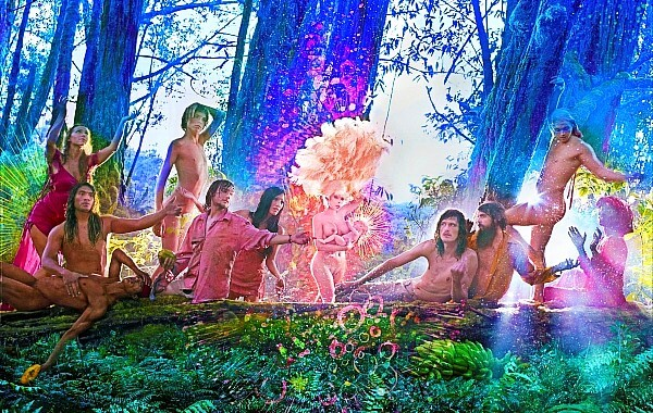 David LaChapelle Amanda Lepore Nature Harmony Heaven The First Supper