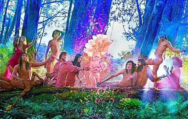 David LaChapelle Amanda Lepore Nature Harmony Heaven The First Supper