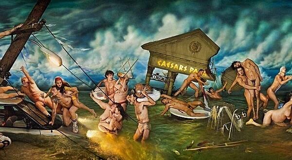 David LaChapelle Apocalypse Flood Michelangelo Sistine Chapel The Deluge