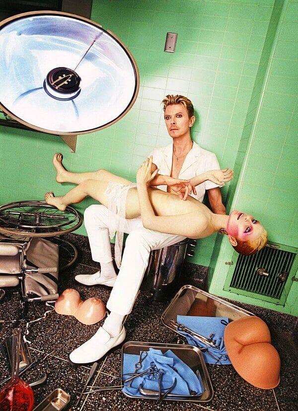 David LaChapelle David Bowie Mannequin Self Preservation