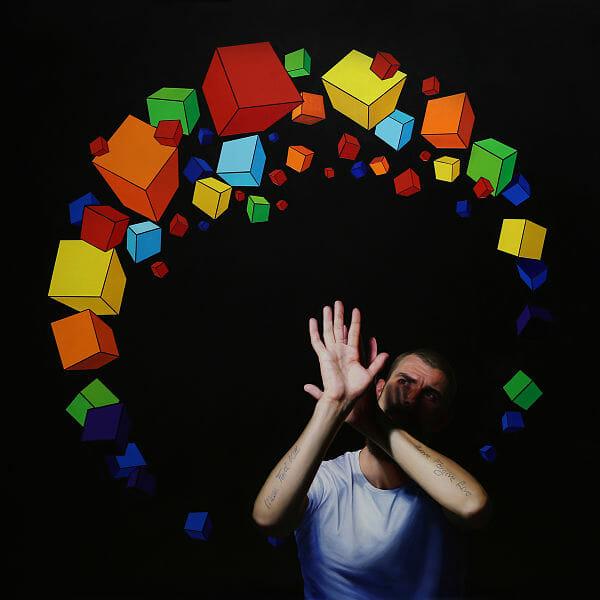 colorful geometric art