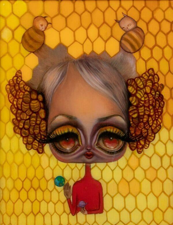 Opal Unicorn queenbee alienbot