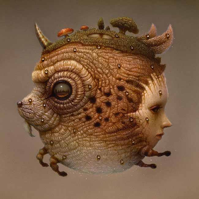 Naoto Hattori pop surreal painting - What Is the Biggest No No for Artists When Seeking Gallery Representation?