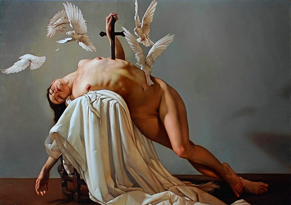 Roberto Ferri surreal figurative nude art