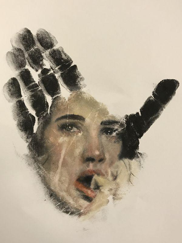 Demi Moore art