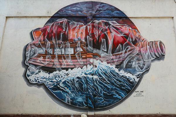 Environment, activism, street art, mural