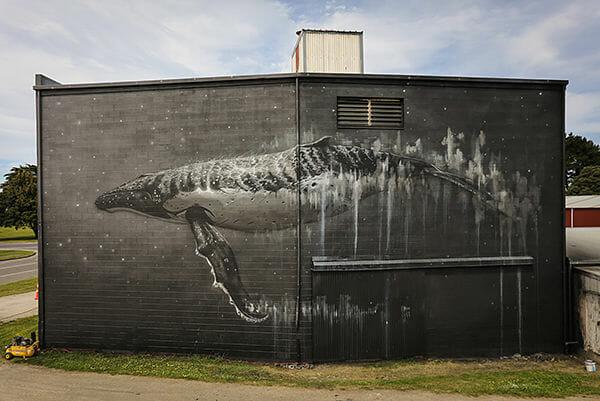 Sea Walls environment, activism, street art, mural